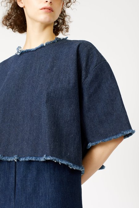 Ashley Rowe Tee - Dark Denim