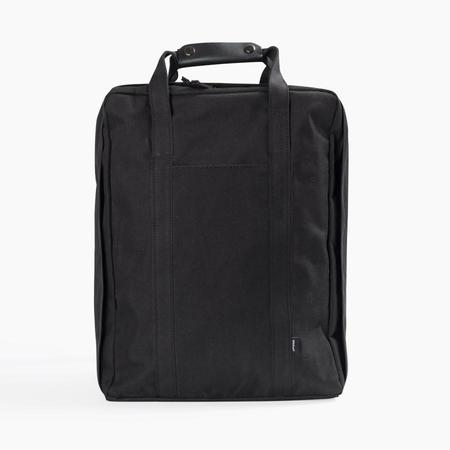 Poketo Voyager Backpack in Black