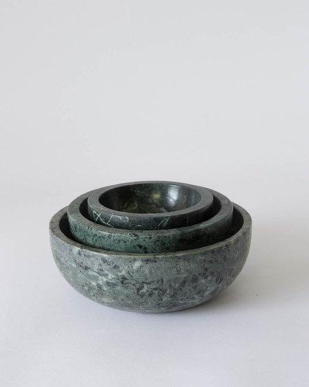 Hawkins NY Mara Green Marble Bowl