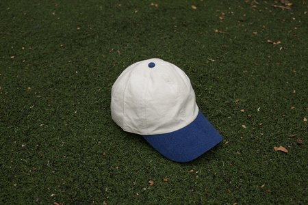COLORANT RAW SILK FITTED CAP - TWO-TONE
