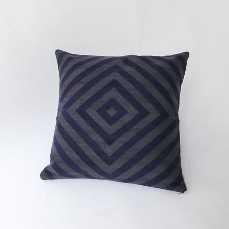 Erica Tanov llama diamond weave pillow
