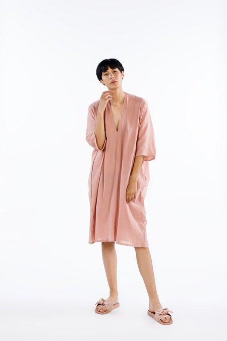 Miranda Bennett Muse Dress - Cotton Gauze in Cava