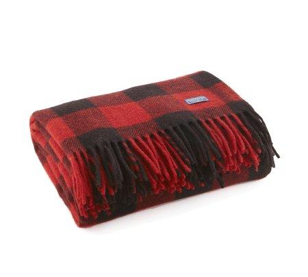 Faribault Woolen Mill Buffalo Check Wool Throw