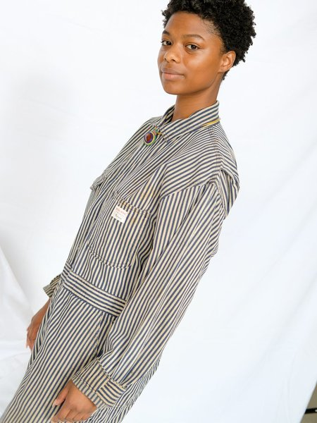 Shop Boswell VINTAGE STRIPE COVERALLS