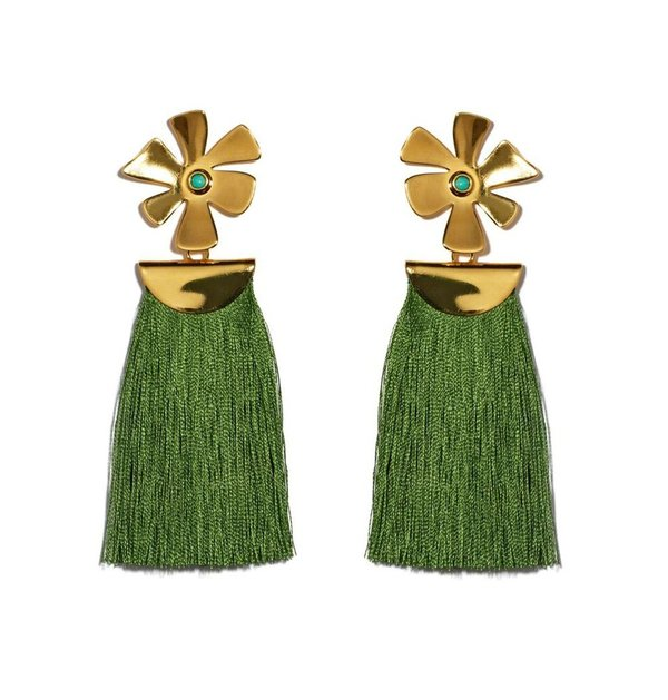 Lizzie Fortunato Daisy Crater Earrings