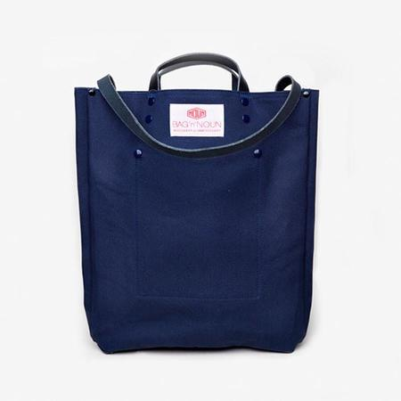 BAG'n'NOUN Tool Bag with Leather Strap - Blue