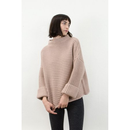 Micaela Greg Parallel Pullover in Blush