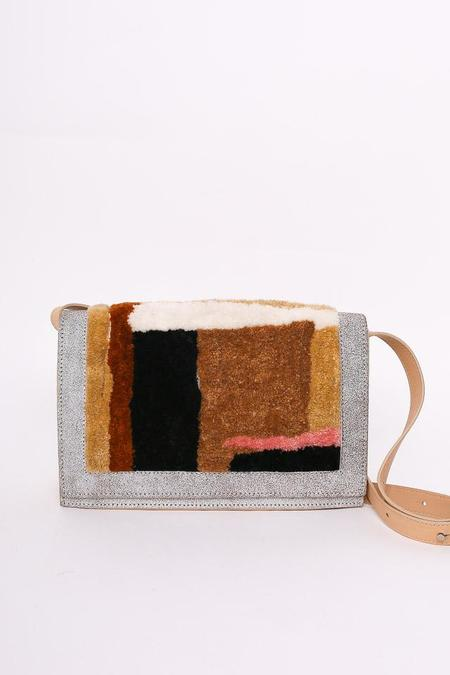 Rachel Comey Pala Shoulder Bag in Beige Carpet