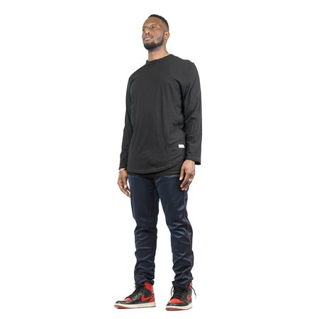 Stampd Signature Double Layer Long Sleeve Tee - Black