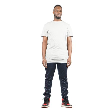 Stampd Signature Double Layer Tee - Grey