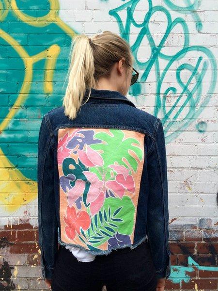 Victoria Brumwell Pastel Jungle Jacket