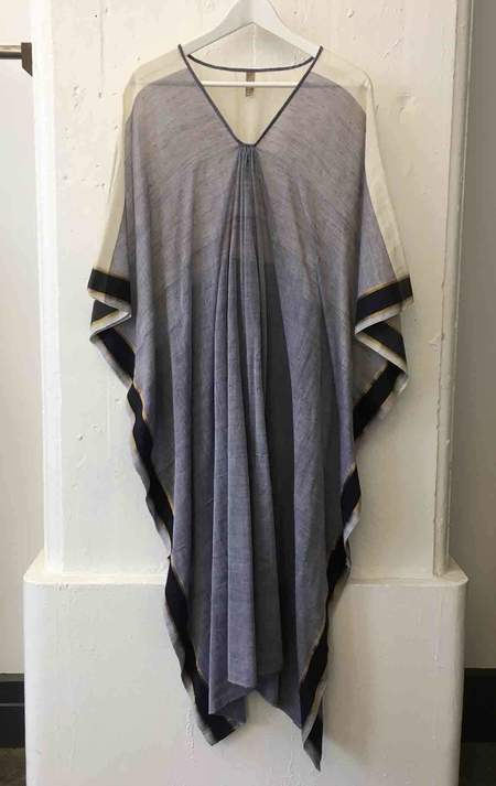 Two One of Kind Blue Caftan