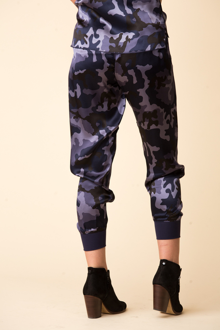 ATM Camo Silk Pull On Pant