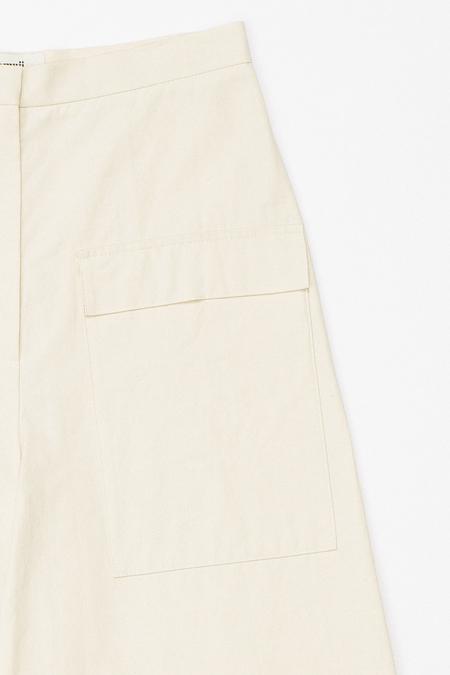 Samuji KOKUNO Trousers in Ecru