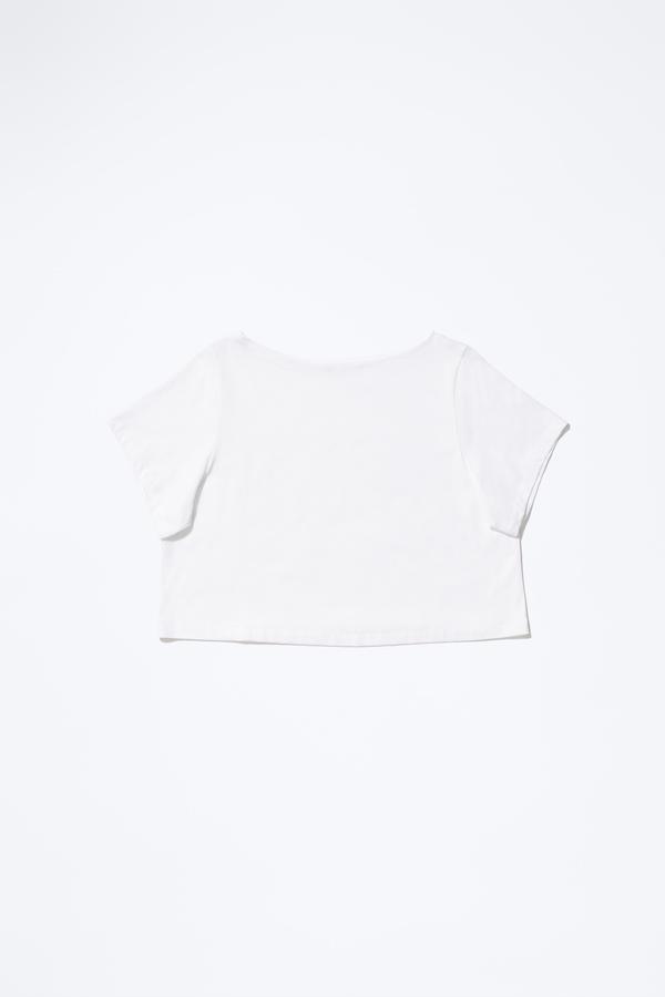 Samuji PANDA SHIRT in White