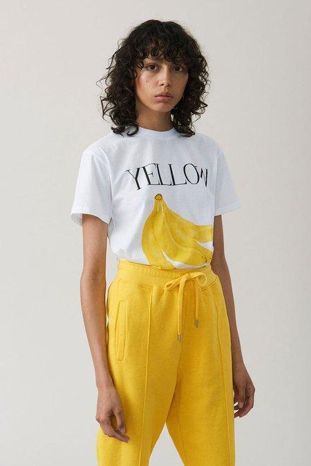 Ganni Harway Banana T-Shirt