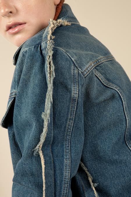 MM6 Stonewash Denim Jacket