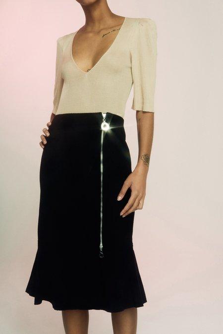 Edun Felt Peplum Skirt