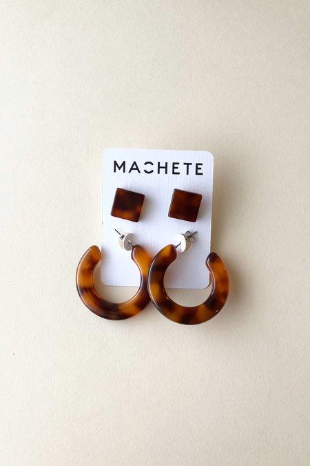 Machete Amber Tortoise Gift Set
