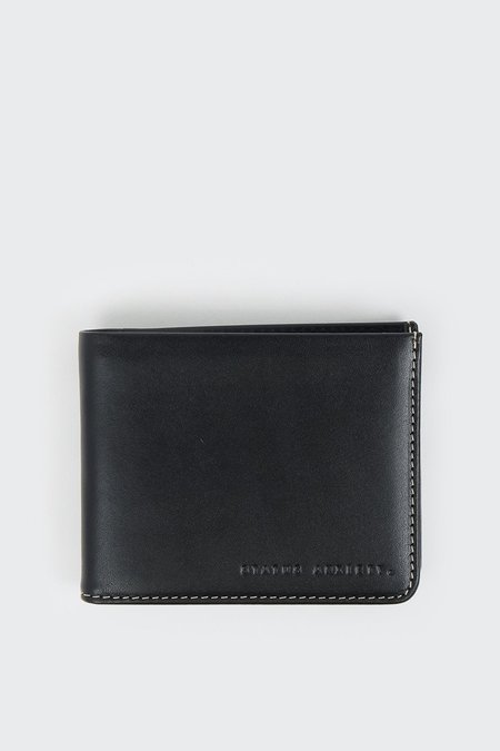 Status Anxiety Alfred Wallet - Black