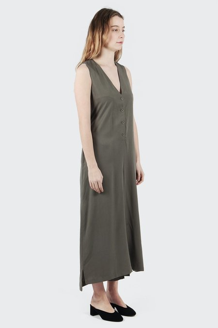 Native Youth Aster Jumpsuit - Olive