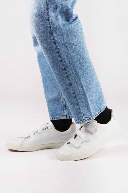 VEJA Esplar 3 Locks Leather - extra white