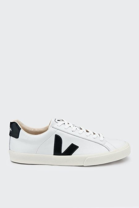 VEJA Esplar Low Leather - white/black