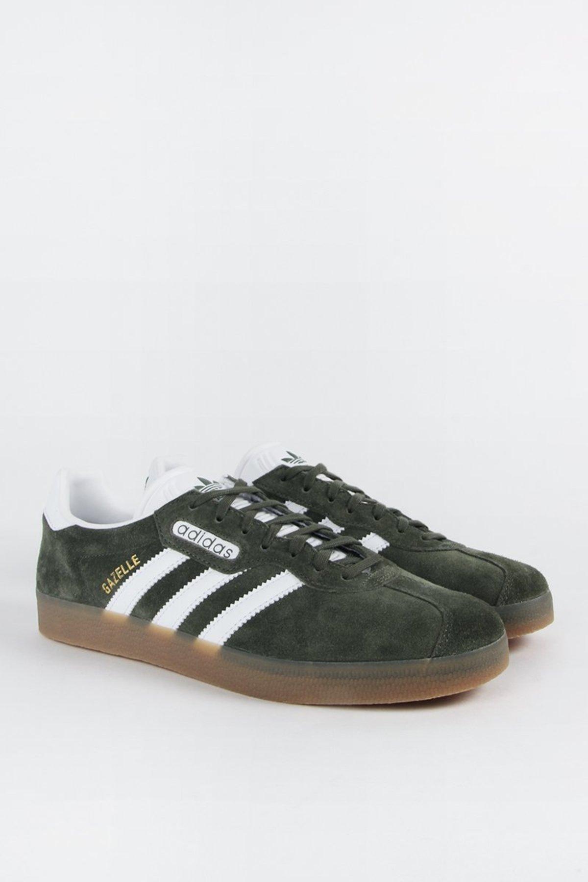 adidas gazelle super green