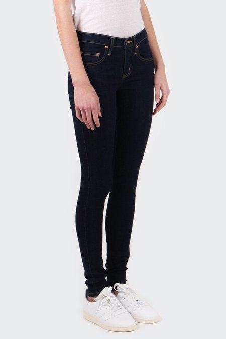 NOBODY DENIM Geo Skinny Jeans - base