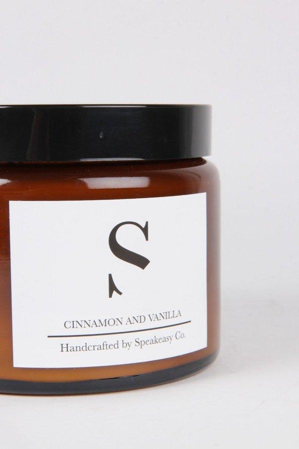 SPEAKEASY Large Cinnamon & Vanilla Candle