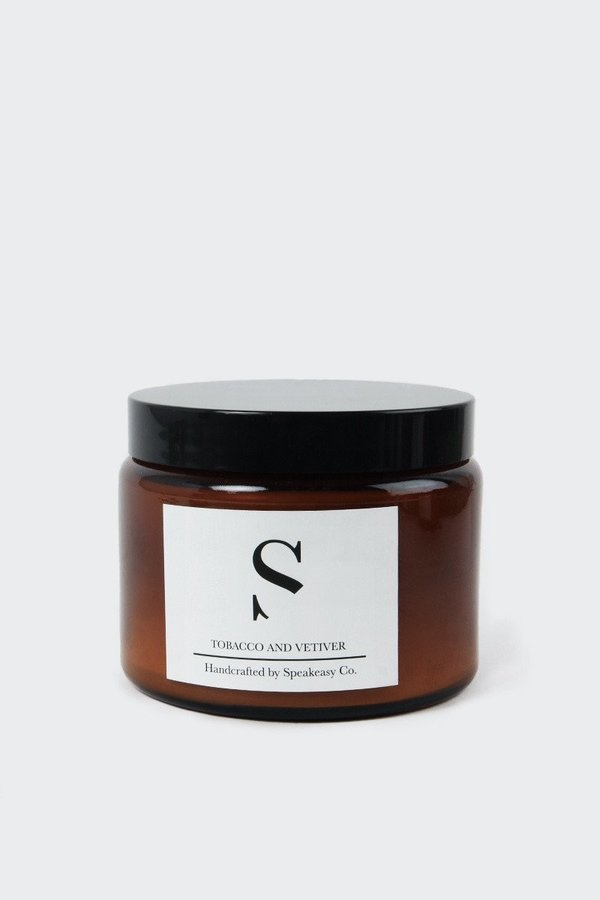 SPEAKEASY Large Tobacco & Vetiver Candle