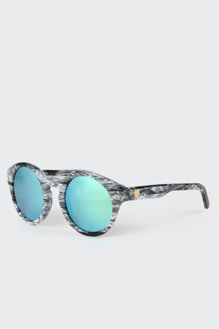 Unisex CoLab Mark Reigelman Wolf Sunglasses - Grey polar