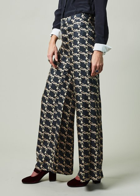 La Prestic Ouiston Giudecca Silk Pant