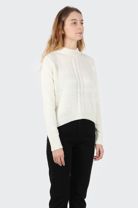 The Fifth Visitors Pass Knit Sweater - ivory