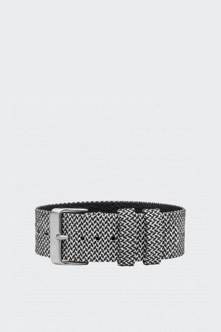 TID Watches Wristband - twain granite/steel buckle