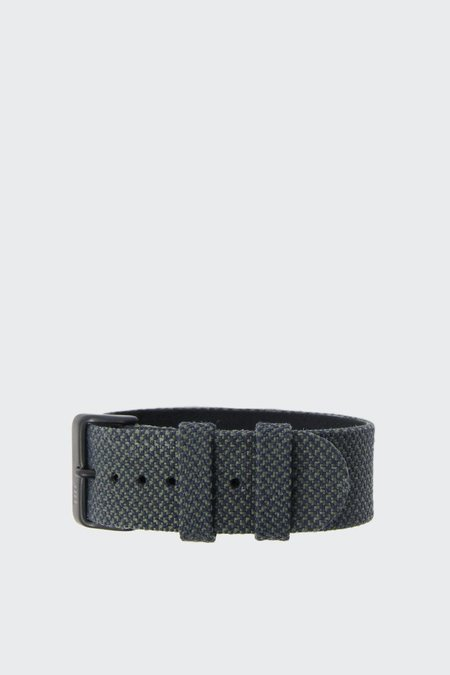 TID Watches Wristband - twain pine/black buckle