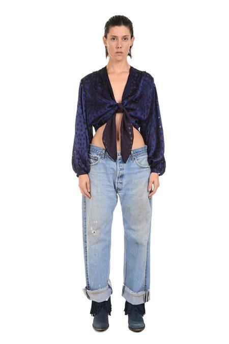 Lindsey Thornburg Crystal Studded Jeans