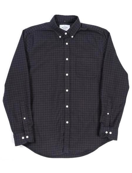 Portuguese Flannel Black Manta Shirt