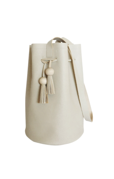 Sunday Supply Co. Grande Cinched Bucket Tote - Beige