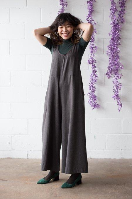 Maggie Jayne Playsuit Long - Grey Jersey