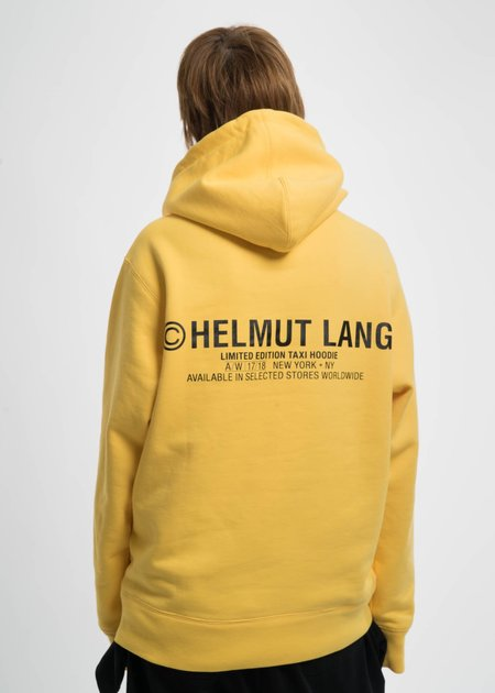 Helmut Lang Yellow Taxi Hoodie