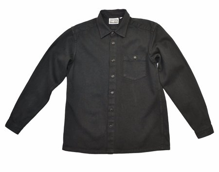 Topanga Button Down - Washed Black