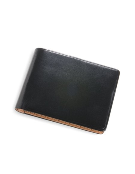 Il Bussetto Dollar Sized Wallet Black