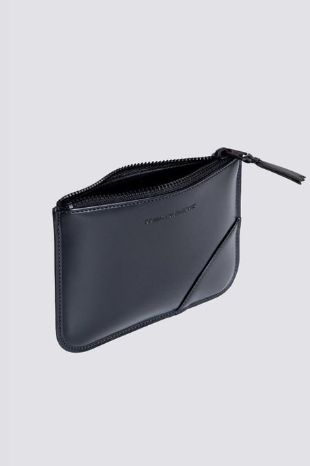 Comme des Garçons Leather SA-8100VB Zip Pouch BAG - BLACK