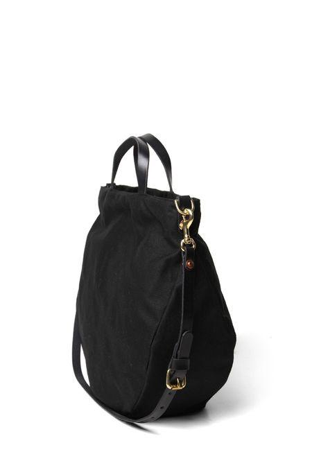 Open Habit Half Moon Bag - Black