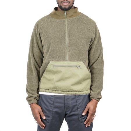 Remi Relief Fleece Anorak - Khaki