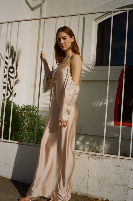 Tessa Matthias Chain Dress