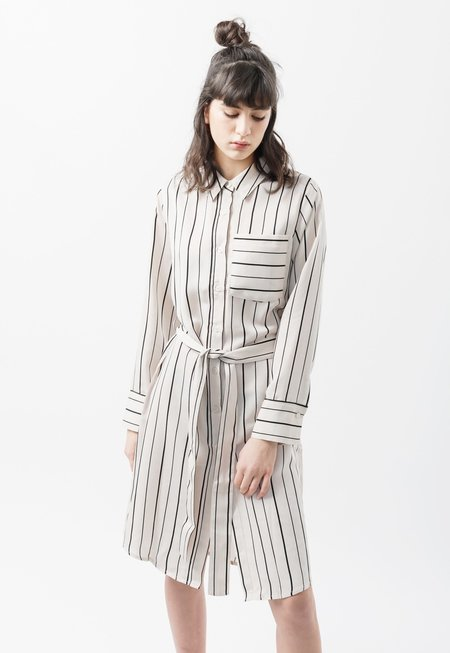 Among Stripe Robe Shirt - Stripe