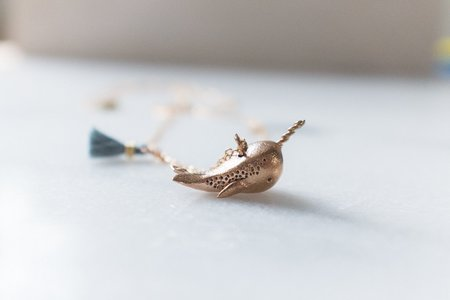 Dawning Collective Narwhal Necklace
