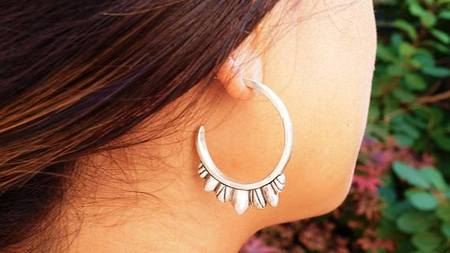 Archerade Elvira Hoop Earrings